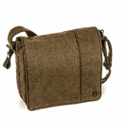 Сумка для коляски Messenger Bag Dark Brown Melange (978)