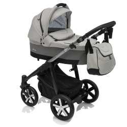 Коляска Baby Design Husky New 2018, 07 Gray