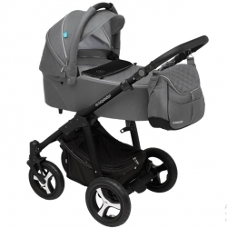 Коляска Baby Design Lupo Comfort New 2 в 1 (Бэби Дизайн Лупо Комфорт Нью) 2 в 1, 07 Графит