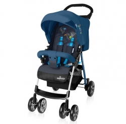 Прогулочная коляска Baby Design Mini New (Бэби Дизайн Мини Нью), 03 Синий
